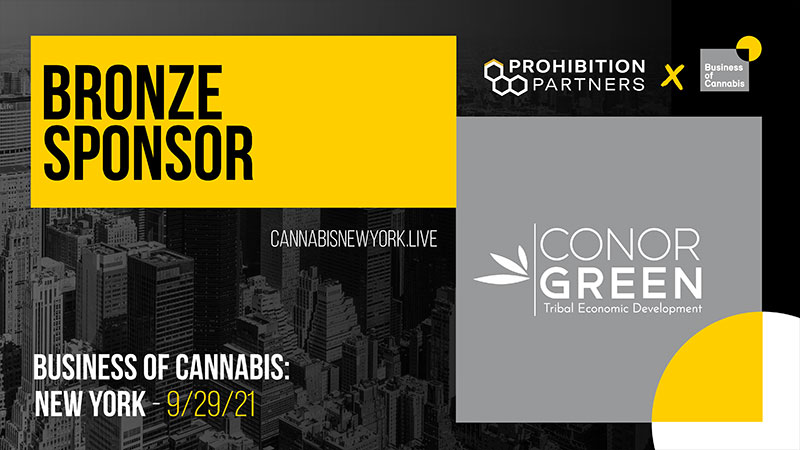 Conor Green Business of Cannabis Official Sponsor